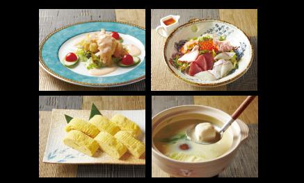 和華の温泉料理イメージ